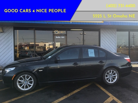 2008 BMW 5 Series for sale at Good Cars 4 Nice People in Omaha NE