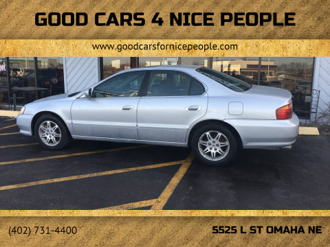 2001 Acura TL for sale at Good Cars 4 Nice People in Omaha NE