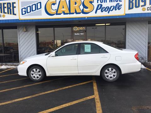 2003 Toyota Camry for sale at Good Cars 4 Nice People in Omaha NE