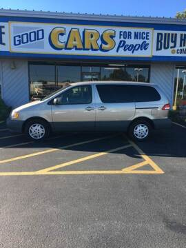 2001 Toyota Sienna for sale at Good Cars 4 Nice People in Omaha NE