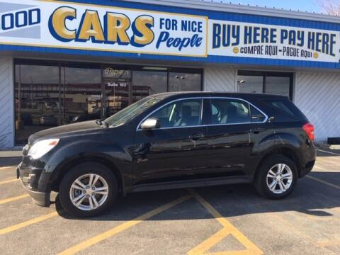 2012 Chevrolet Equinox for sale at Good Cars 4 Nice People in Omaha NE