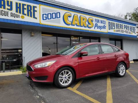 2015 Ford Focus for sale at Good Cars 4 Nice People in Omaha NE