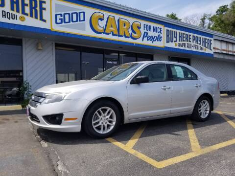 2011 Ford Fusion for sale at Good Cars 4 Nice People in Omaha NE