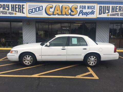 2003 Mercury Grand Marquis for sale at Good Cars 4 Nice People in Omaha NE