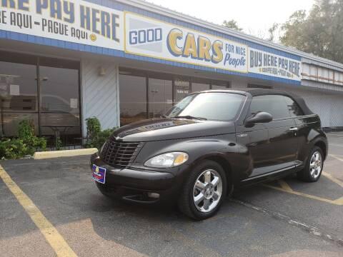 2005 Chrysler PT Cruiser for sale at Good Cars 4 Nice People in Omaha NE
