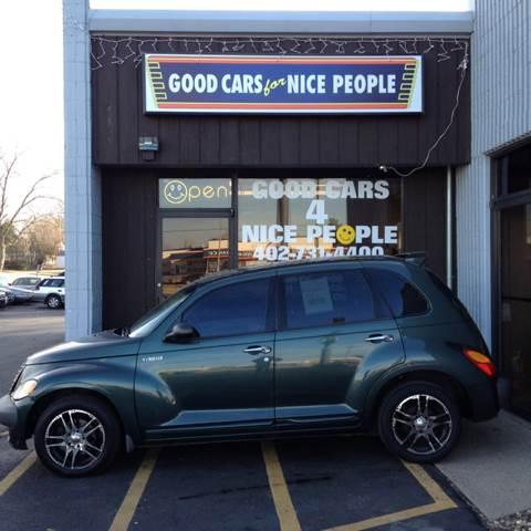 2001 Chrysler PT Cruiser for sale at Good Cars 4 Nice People in Omaha NE