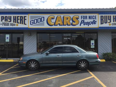 2002 Hyundai XG350 for sale at Good Cars 4 Nice People in Omaha NE