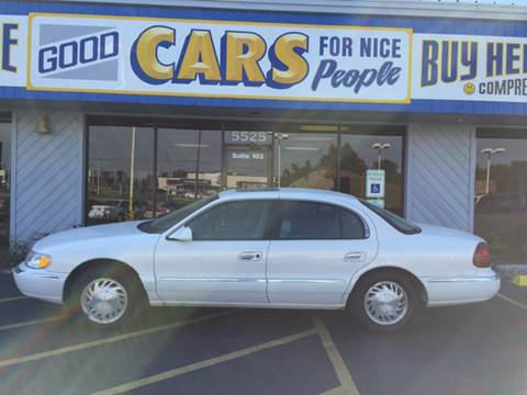 1998 Lincoln Continental for sale at Good Cars 4 Nice People in Omaha NE