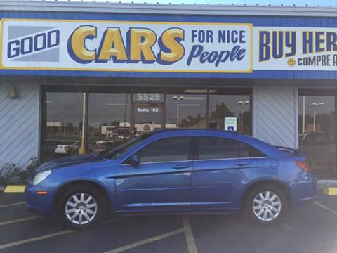 2007 Chrysler Sebring for sale at Good Cars 4 Nice People in Omaha NE