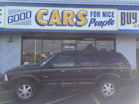 1998 Oldsmobile Bravada for sale at Good Cars 4 Nice People in Omaha NE