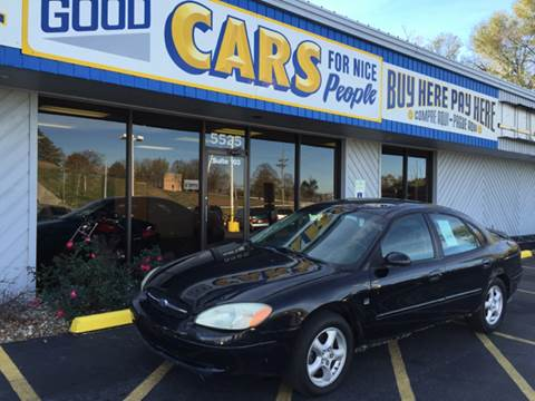 2002 Ford Taurus for sale at Good Cars 4 Nice People in Omaha NE