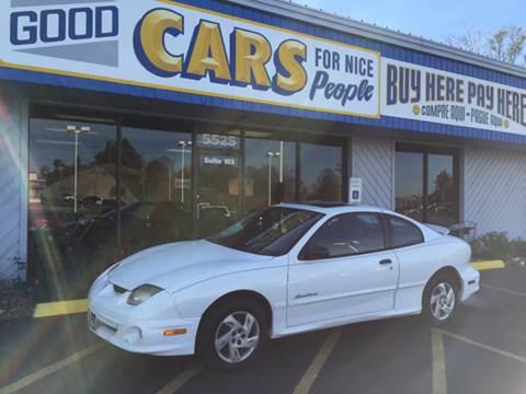 2000 Pontiac Sunfire for sale at Good Cars 4 Nice People in Omaha NE