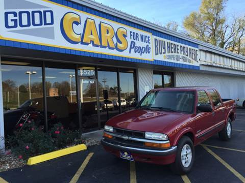 2001 Chevrolet S-10 for sale at Good Cars 4 Nice People in Omaha NE