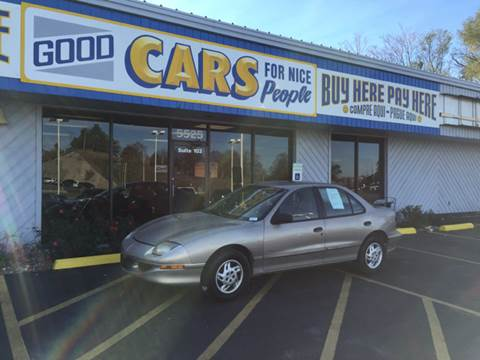 1997 Pontiac Sunfire for sale at Good Cars 4 Nice People in Omaha NE
