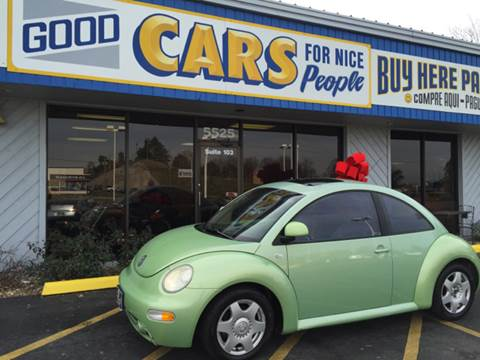 2000 Volkswagen New Beetle for sale at Good Cars 4 Nice People in Omaha NE