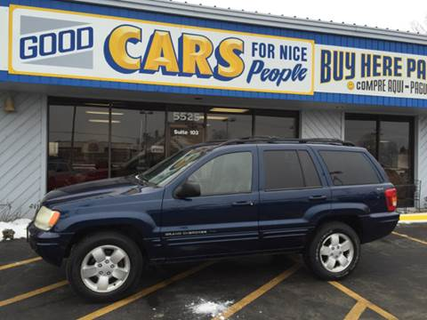 2001 Jeep Grand Cherokee for sale at Good Cars 4 Nice People in Omaha NE