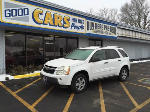 2005 Chevrolet Equinox for sale at Good Cars 4 Nice People in Omaha NE