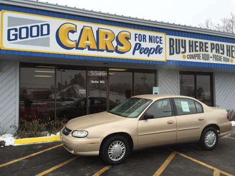 2002 Chevrolet Malibu for sale at Good Cars 4 Nice People in Omaha NE