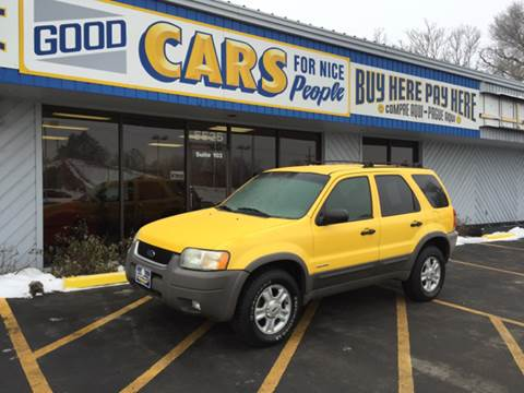 2002 Ford Escape for sale at Good Cars 4 Nice People in Omaha NE