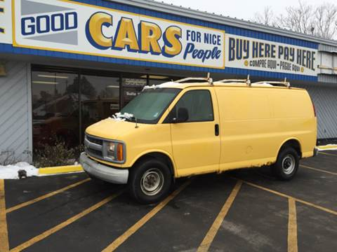 2000 Chevrolet Express Cargo for sale at Good Cars 4 Nice People in Omaha NE