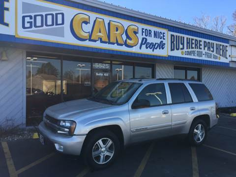 2004 Chevrolet TrailBlazer for sale at Good Cars 4 Nice People in Omaha NE