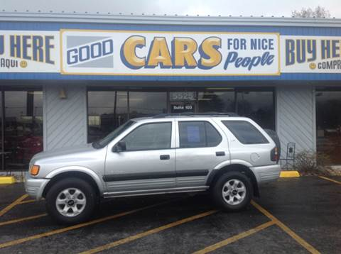 1999 Isuzu Rodeo for sale at Good Cars 4 Nice People in Omaha NE
