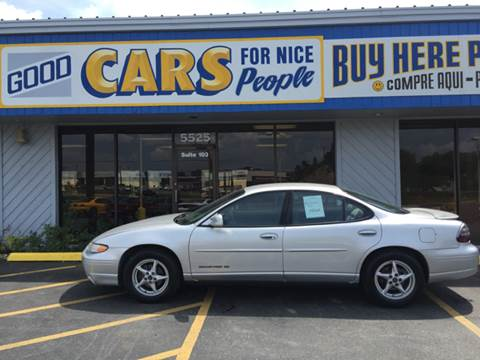 2002 Pontiac Grand Prix for sale at Good Cars 4 Nice People in Omaha NE