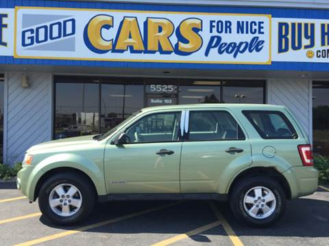 2008 Ford Escape for sale at Good Cars 4 Nice People in Omaha NE