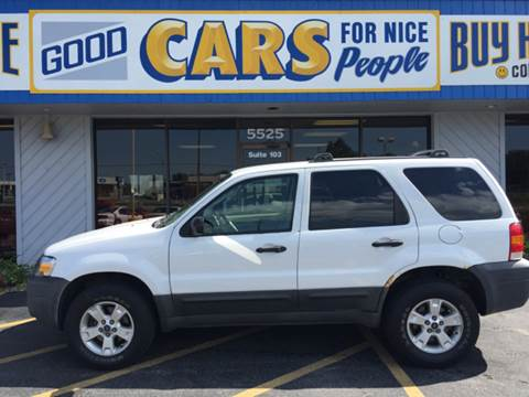 2005 Ford Escape for sale at Good Cars 4 Nice People in Omaha NE