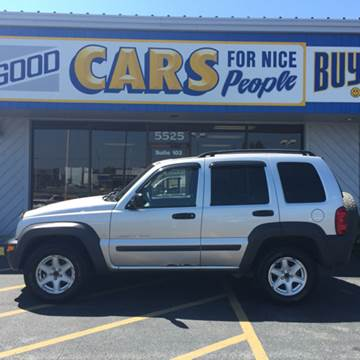 2003 Jeep Liberty for sale at Good Cars 4 Nice People in Omaha NE