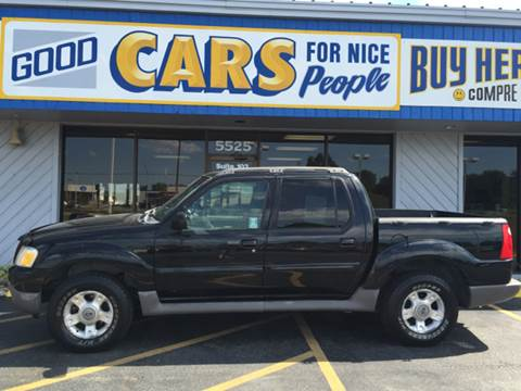 2001 Ford Explorer Sport Trac for sale at Good Cars 4 Nice People in Omaha NE