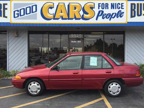 1995 Ford Escort for sale at Good Cars 4 Nice People in Omaha NE