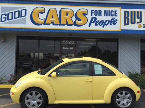 2003 Volkswagen New Beetle for sale at Good Cars 4 Nice People in Omaha NE