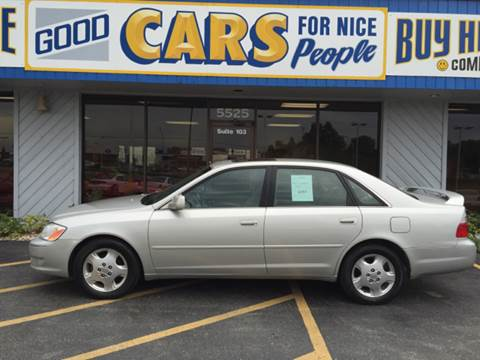 2003 Toyota Avalon for sale at Good Cars 4 Nice People in Omaha NE