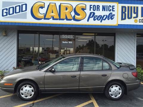 2001 Saturn S-Series for sale at Good Cars 4 Nice People in Omaha NE