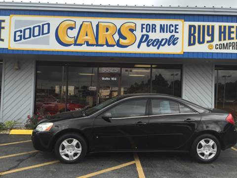 2008 Pontiac G6 for sale at Good Cars 4 Nice People in Omaha NE