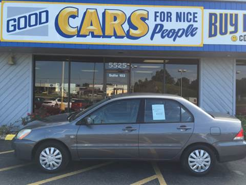 2005 Mitsubishi Lancer for sale at Good Cars 4 Nice People in Omaha NE