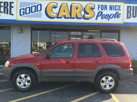 2001 Mazda Tribute for sale at Good Cars 4 Nice People in Omaha NE