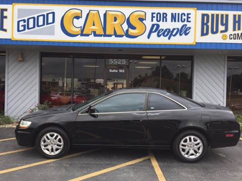 2001 Honda Accord for sale at Good Cars 4 Nice People in Omaha NE