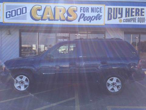 2002 Chevrolet TrailBlazer for sale at Good Cars 4 Nice People in Omaha NE