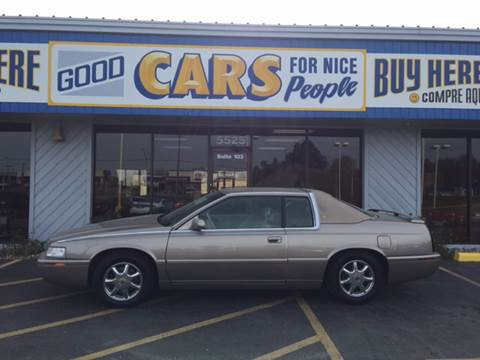 2000 Cadillac Eldorado for sale at Good Cars 4 Nice People in Omaha NE