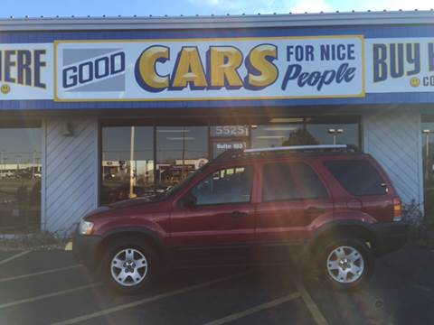 2003 Ford Escape for sale at Good Cars 4 Nice People in Omaha NE