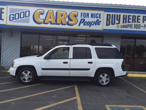 2005 Chevrolet TrailBlazer EXT for sale at Good Cars 4 Nice People in Omaha NE