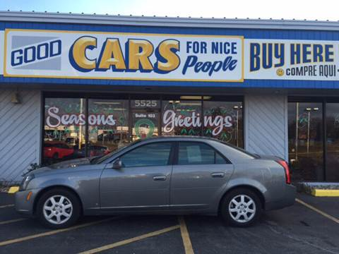 2006 Cadillac CTS for sale at Good Cars 4 Nice People in Omaha NE