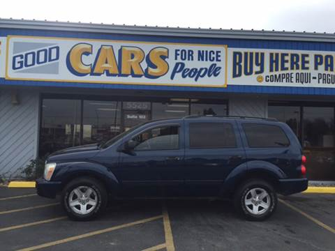 2005 Dodge Durango for sale at Good Cars 4 Nice People in Omaha NE