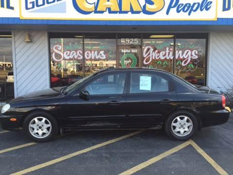 2000 Hyundai Sonata for sale at Good Cars 4 Nice People in Omaha NE