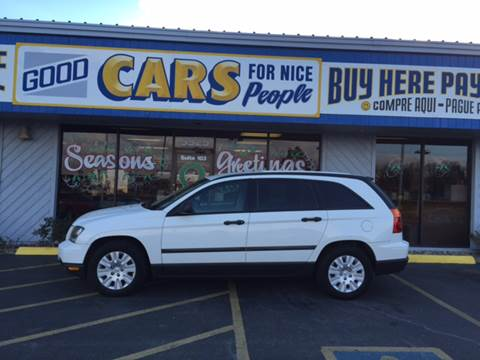 2006 Chrysler Pacifica for sale at Good Cars 4 Nice People in Omaha NE