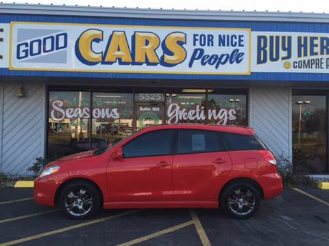 2003 Toyota Matrix for sale at Good Cars 4 Nice People in Omaha NE