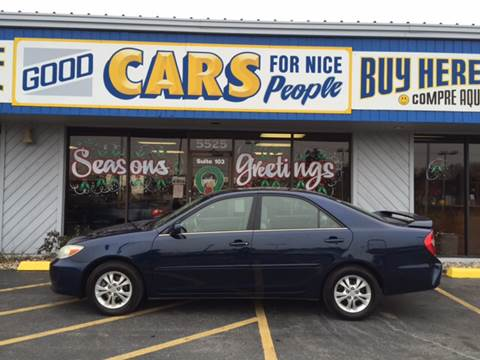 2004 Toyota Camry for sale at Good Cars 4 Nice People in Omaha NE