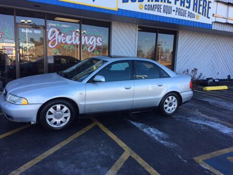 2001 Audi A4 for sale at Good Cars 4 Nice People in Omaha NE